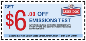 Emissions Test Utah >> Lube Doc Fast And Friendly Oil Changes Emissions Inspections